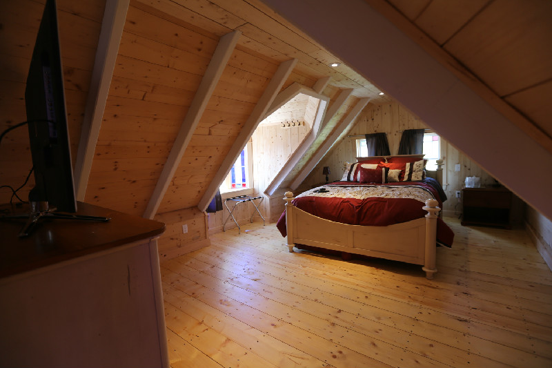 Room available for booking at the Trinity Eco Tours Lodge