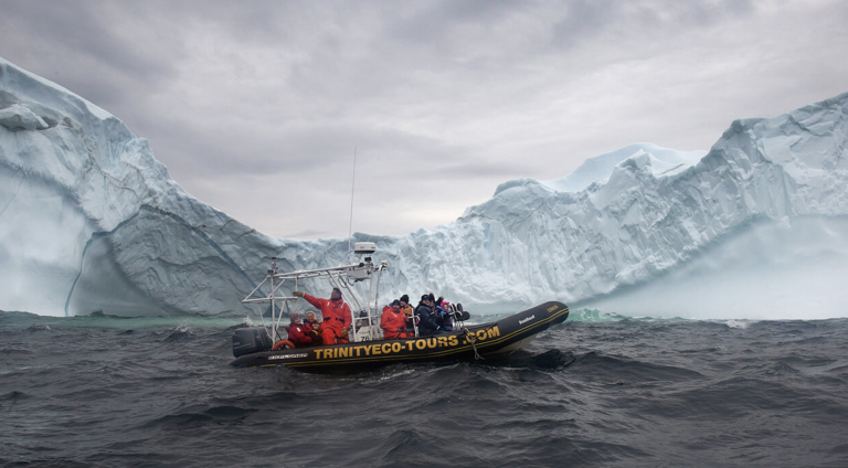 Featured in The Globe and Mail – Close Encounters With Icebergs